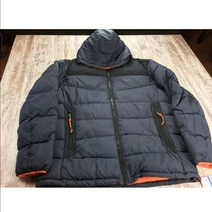 Michael Kors Quilted Hooded Puffer Coat Jacket